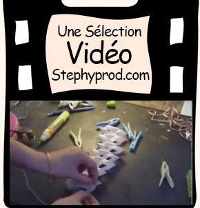 Vidéo Tutoriel pour Noël, de splendides décorations en papier, DIY pour les enfants et les bébés.