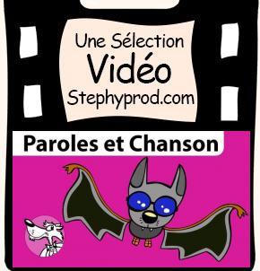 Vidéo Chanson Chauve-Souris pour les enfants et les bébés.