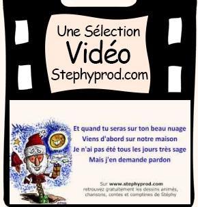 Vidéos Père Noël. Sélection Stephyprod pour les enfants et la famille.