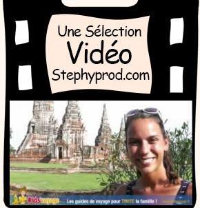 Vidéo Vidéo Kids'voyage - 15 La ville d'Ayutthaya, Thaïlande pour les enfants et les bébés.