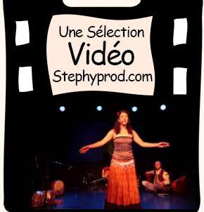 Vidéo Conte Zouna, extrait d'un spectacle de la Ronde Bleue pour les enfants et les bébés.