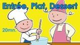 La cuisine est un jeu d'enfant, un menu simple à réaliser
