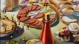 Dessin animé Disney - Donald pique nique sur la plage