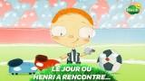 Dessin animé Le jour ou Henri a rencontré un ballon de foot