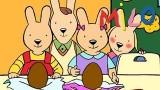 Dessin animé Pâques Milo, Les oeufs en chocolat
