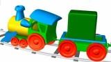 Dessin animé pour les enfants Le Carré vert