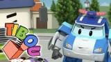 Dessin animé sécurité routière, Robocar Poli, Les angles morts