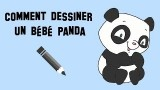 Dessiner un bébé panda adorable