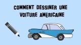 Dessiner une voiture américaine, style Cadillac