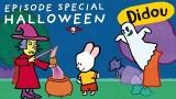 Dessin animé Halloween, Didou, fantôme, sorcière et ogre
