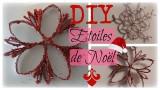 DIY de Noël - Etoiles en carton recyclé