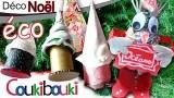 Tutoriel de Noël, le sapin surprise en papier recyclé, une boîte cadeau pour Noël