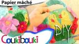 Panier de Pâques en papier, DIY, tuto de Pâques, activité pour les enfants