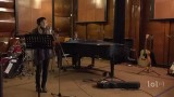Enregistrement d'une chanson en studio