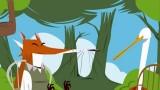 Fable de La Fontaine Le Renard et la Cigogne