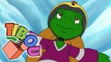 Franklin La tortue  fan de hockey, un dessin animé gratuit
