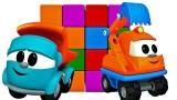 Dessin animé Leo le camion curieux et les cubes