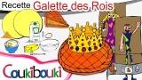Recette galette des Rois, un  livre animé pour la Fête des Rois