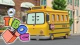 La sécurité dans le bus scolaire de Robocar Poli