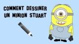 Tuto, comment dessiner le minion Stuart