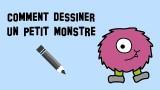Tuto, comment dessiner un petit monstre
