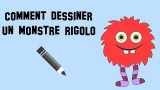 Tutoriel de dessin, Comment dessiner un monstre rigolo