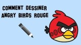 Dessiner un angry birds rouge, un tutoriel pour bien desssiner